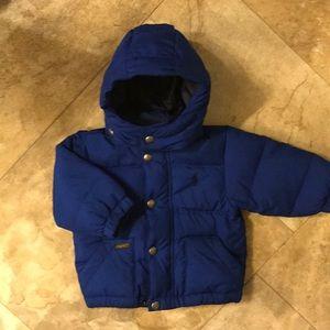 Ralph Lauren 9 Month Boys Puffer Coat